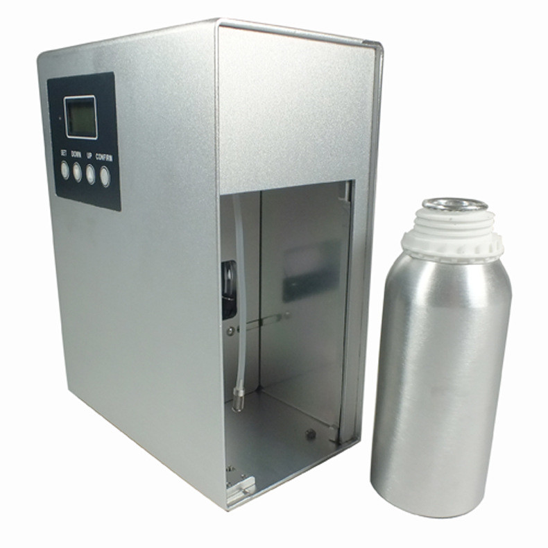 Cold scnet air dispenser silver aroma scent machine commercial scent air freshener
