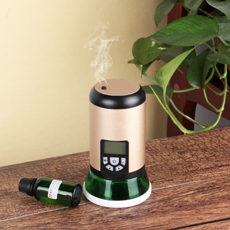 Electric Essential Oil Machine 100ml Scent Aroma Diffuser Car Air Freshener 300m2 Cold Scent Atomization Diffuser For Car Home Office