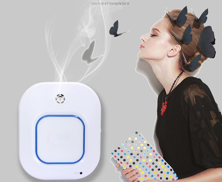Intelligent Atomization Scent Diffuser 100ml Office Aromatherapy Nebulizing Diffuser DC5V Automatic Cold Mist Air Diffuser